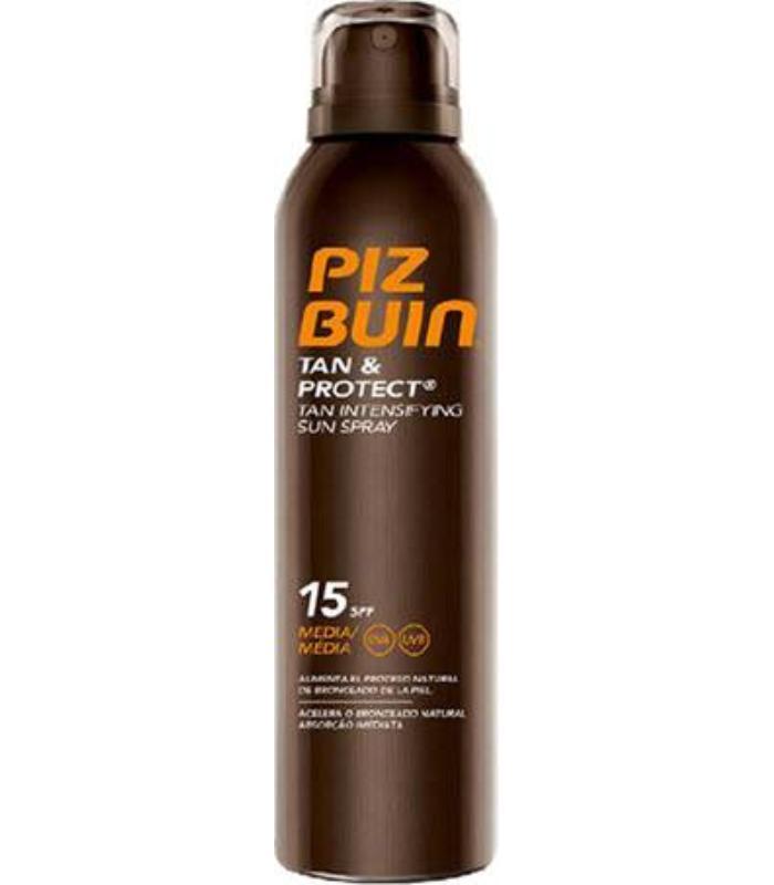 comprar TAN & PROTECT SPRAY SPF15 150ML PIZ BUIN