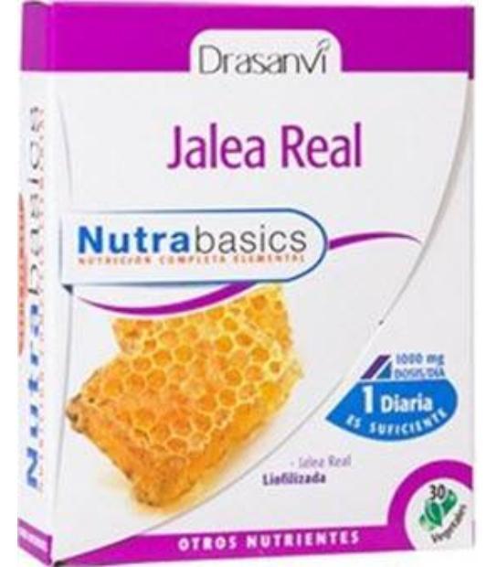 JALEA REAL NUTRABASICS - 30 PERLAS. 1000 MGS. DRASANVI