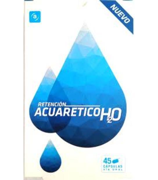 ACUARETICO H2O RETENCION ACTAFARMA 45 CAPSULAS