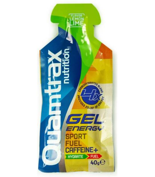 QUAMTRAX NUTRITION GEL ENERGY SPORT SABOR A LIMA LIMON
