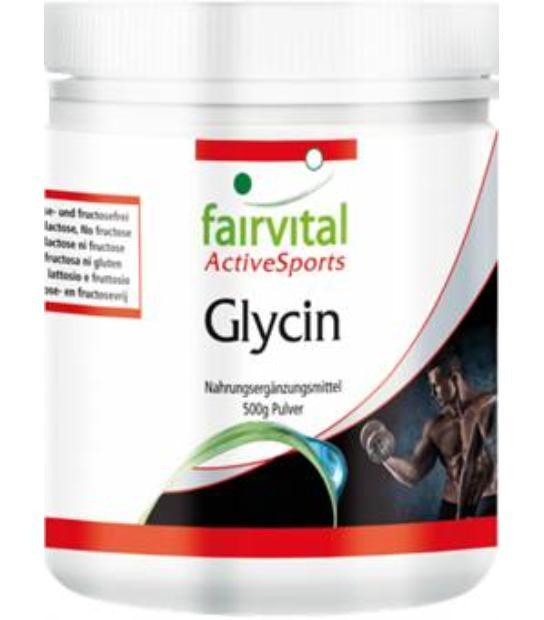 FAIRVITAL GLICINA 500 GR ACTIVESPORTS