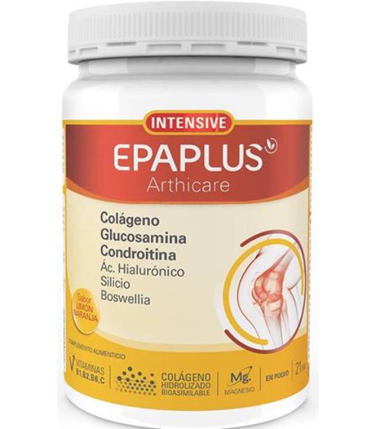 EPAPLUS ARTHICARE INTENSIVE COLAGENO, GLUCOSAMINA, COND. SABOR LIMON NARANJA 284,15 GRS