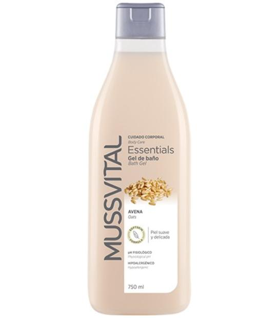COMPRAR MUSSVITAL ESSENTIALS GEL DE BAÑO AVENA 750 ML