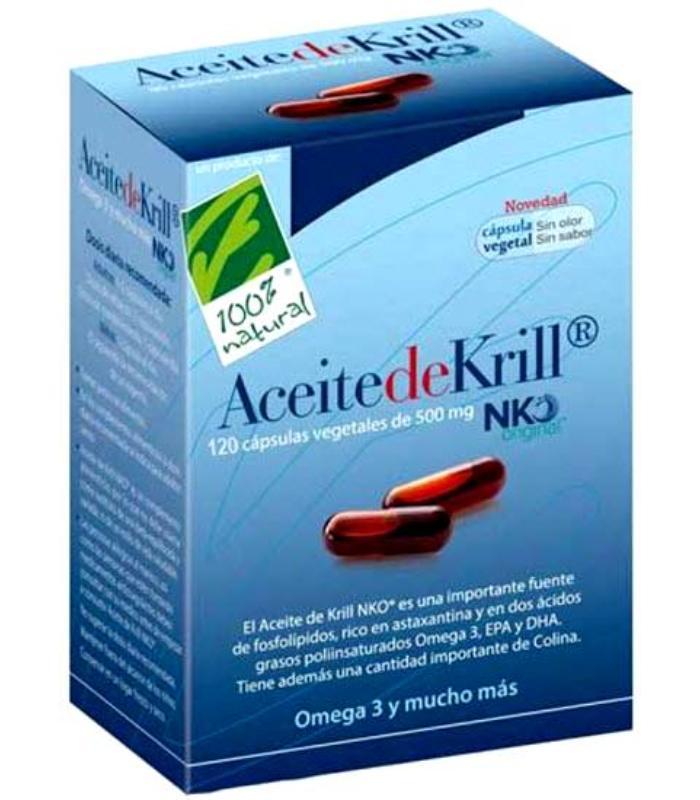 COMPRAR ACEITE DE KRILL NKO 120 CAPSULAS DE 500 MG