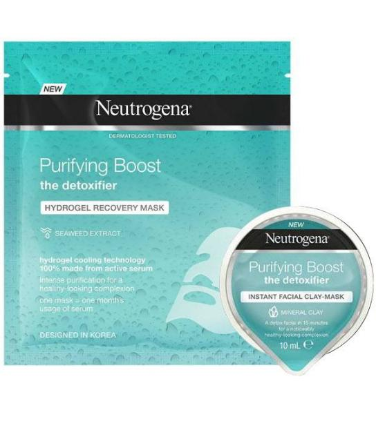NNEUTROGENA PURIFYING BOOST + MASCARILLA REGALO