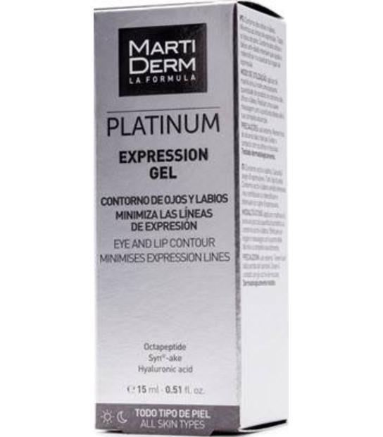 MARTIDERM PLATINUM EXPRESSION GEL 15ML TODO TIPO DE PIEL