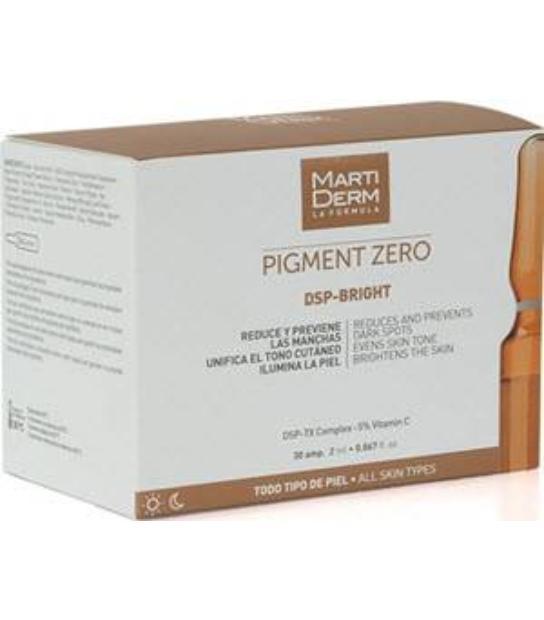 MARTIDERM PIGMENT ZERO DSP-BRIGHT 30 AMPOLLAS TODO TIPO DE PIEL