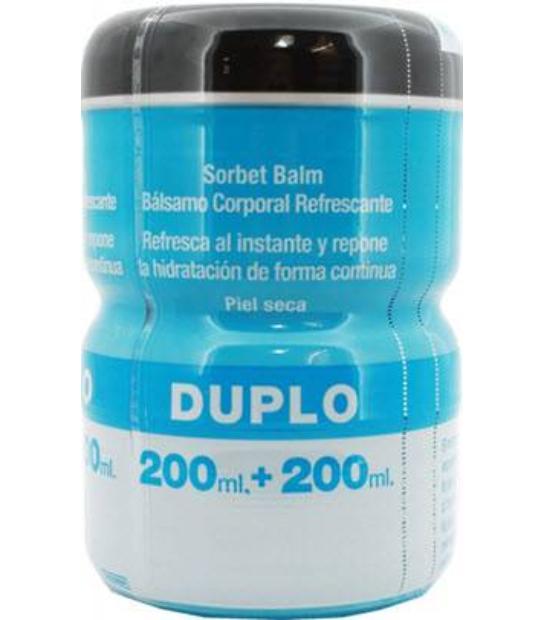DUPLO HYDRO BOOST BALSAMO CORPORAL REFRESCANTE PIEL SECA 200+200