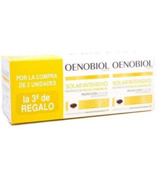 OENOBIOL SOLAR INTESIVO PIELES SENSIBLES 3X30 CAPSULAS TRIPLO