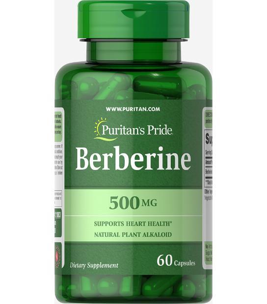 COMPRAR BERBERINE 500MG 60 CAPSULAS PURITAN PRIDE