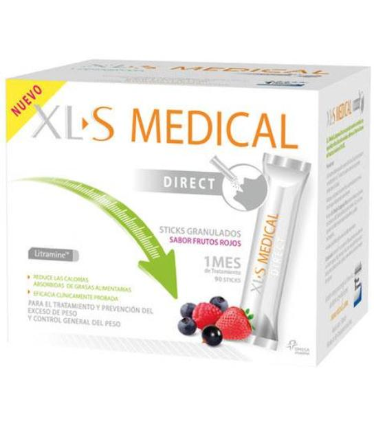 COMPRAR XLS MEDICAL CAPTAGRASAS DIRECT 90 STICKS