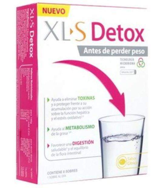 COMPRAR XLS DETOX 8 SOBRES