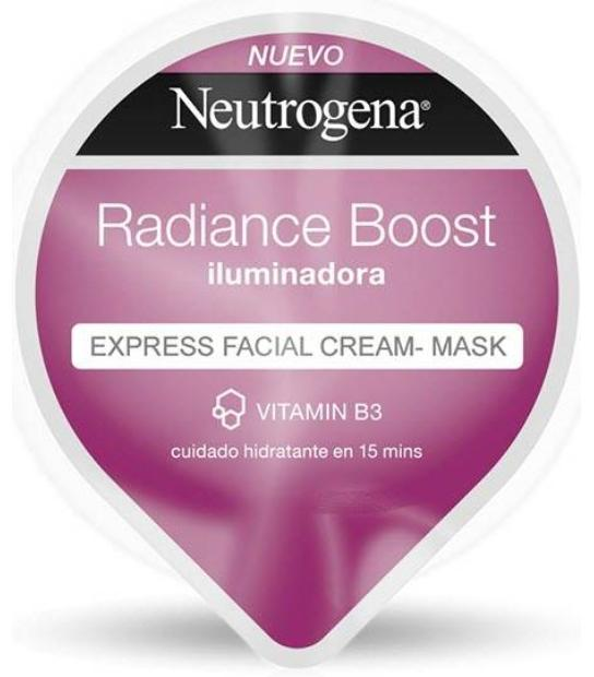 RADIANCE BOOST MASCARILLA ILUMINADORA EXPRESS FACIAL 10ML NEUTROGENA