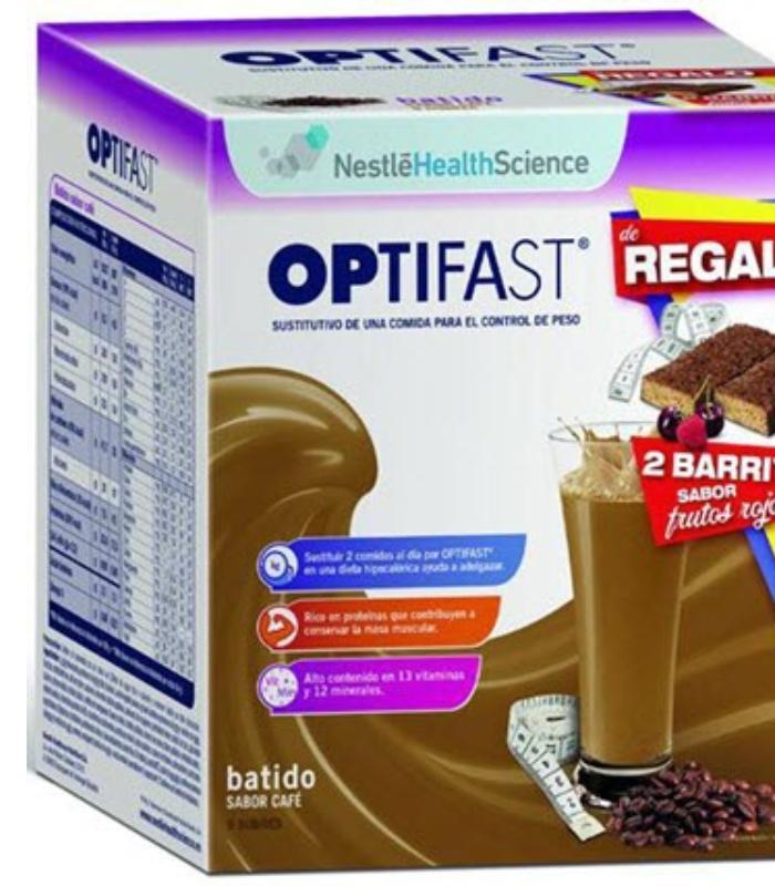 Comprar: OPTIFAST BATIDO DE CAFE 9 SOBRES, Farmadina.com