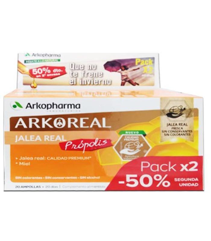 Comprar DUPLO ARKOREAL JALEA REAL PROPOLIS 2X20 AMPOLLAS