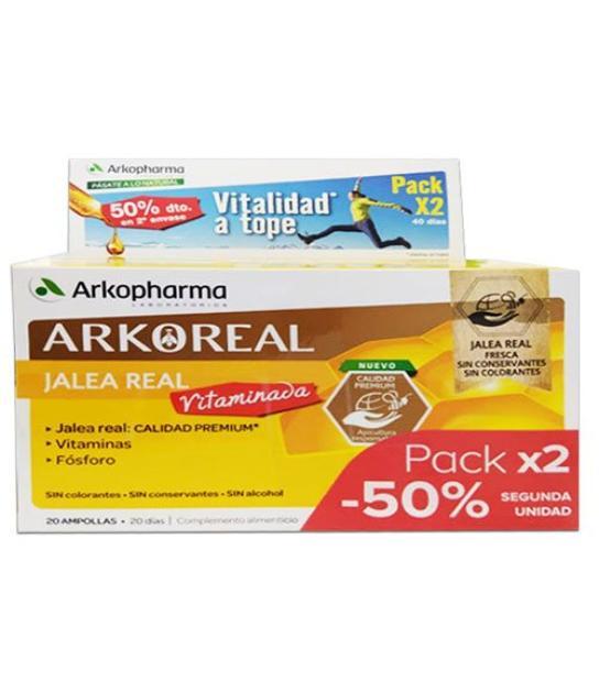 DUPLO ARKOREAL JALEA REAL VITAMINADA 2X20 AMPOLLLAS