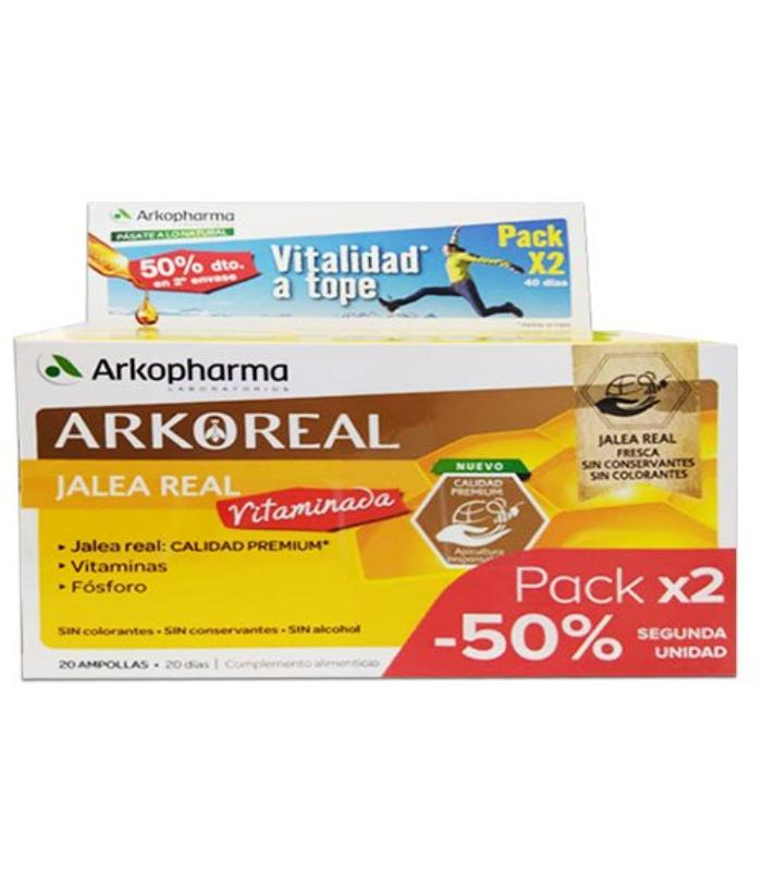 Comprar DUPLO ARKOREAL JALEA REAL VITAMINADA 2X20 AMPOLLLAS
