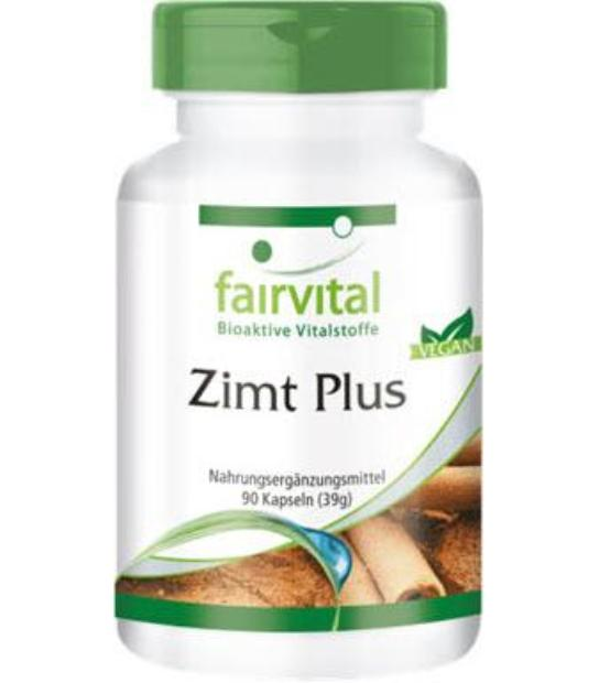 CANELA PLUS FAIRVITAL 90 CAPSULAS (ZIMT PLUS - CINNAMON)