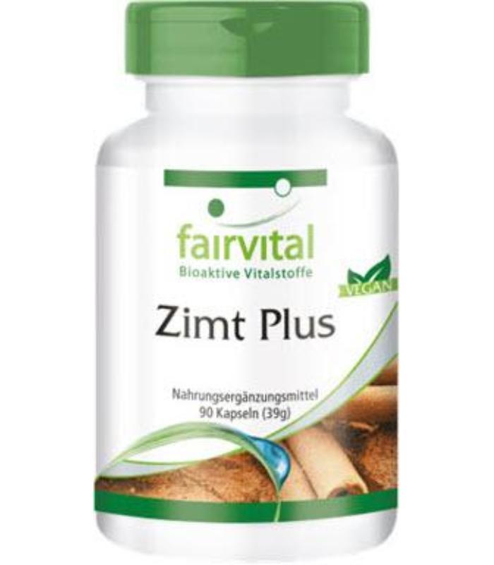 comprar CANELA PLUS FAIRVITAL 90 CAPSULAS (ZIMT PLUS)