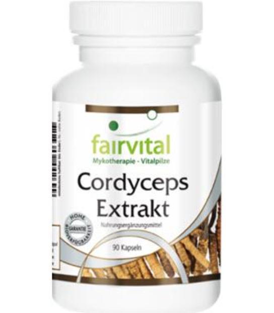 comprar CORDYCEPS EXTRACTO FAIRVITAL 90 CAPSULAS