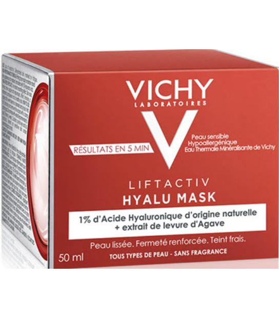 LIFTACTIV HYALU MASCARILLA EFECTO FLASH 50ML VICHY