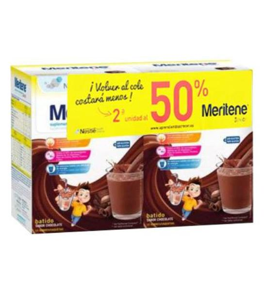 comprar DUPLO MERITENE JUNIOR CHOCOLATE 2ª 50%