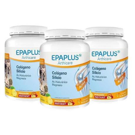 Comprar PACK 3U EPAPLUS SILICIO LIMON 334 GRS. ARTHICARE COLAGENO. AH. MAGNESIO