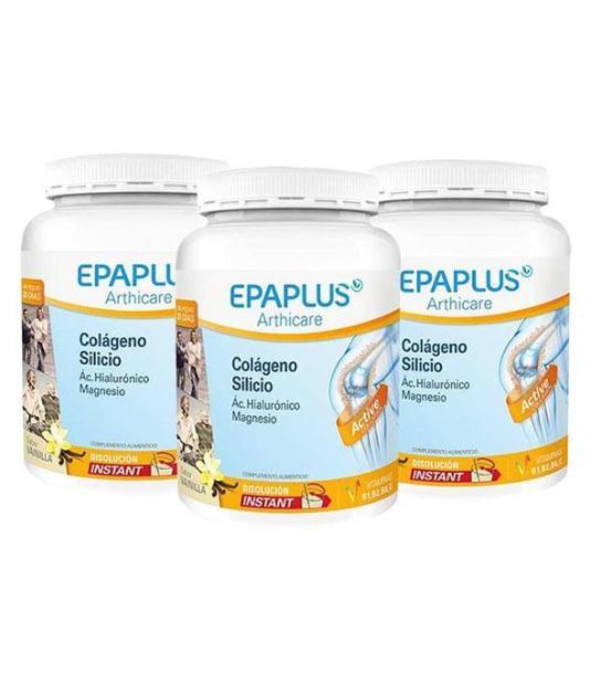 PACK 3U EPAPLUS SILICIO VAINILLA. 326 GRS ARTHICARE COLAGENO AH MAGNESIO 326 GRS