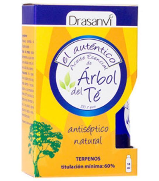COMPRAR ACEITE ARBOL DE TÉ 18ML DRASANVI para tus heridas, antipiojos