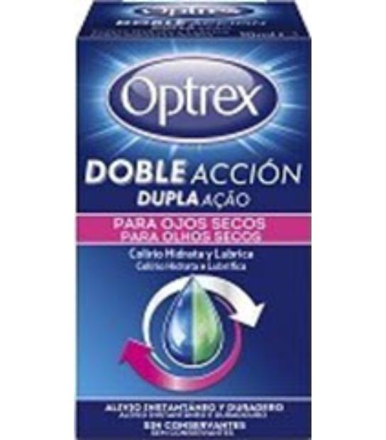 comprar OPTREX DOBLE ACCION COLIRIO PARA OJOS SECOS 10ML