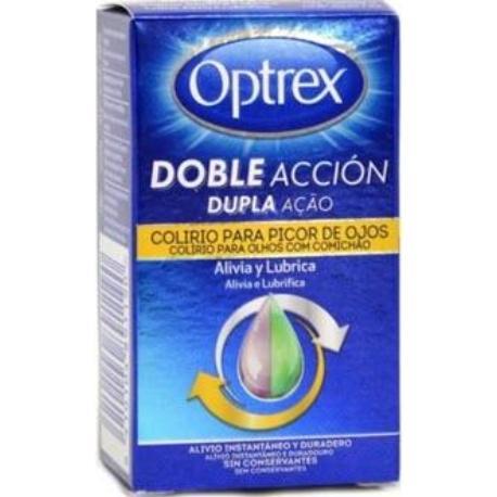 comprar OPTREX DOBLE ACCION COLIRIO PICOR DE OJOS 10ML
