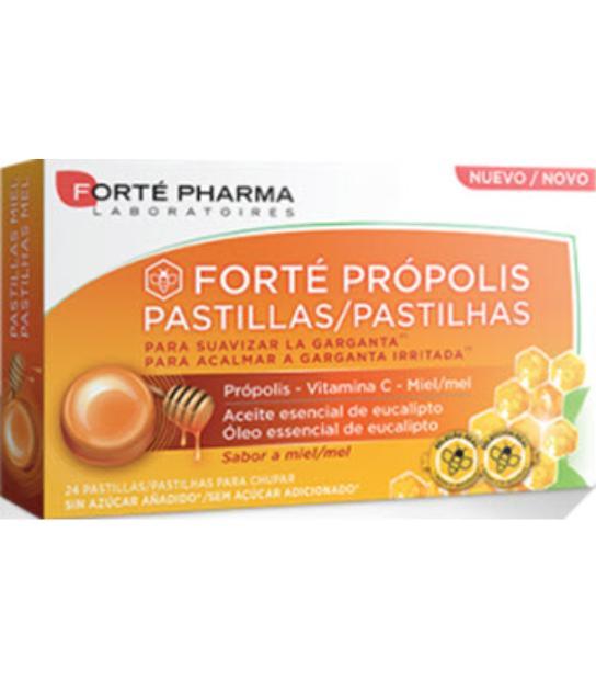 FORTE PROPOLIS PASTILLAS SABOR MIEL 24 COMPRIMIDOS FORTEPHARMA