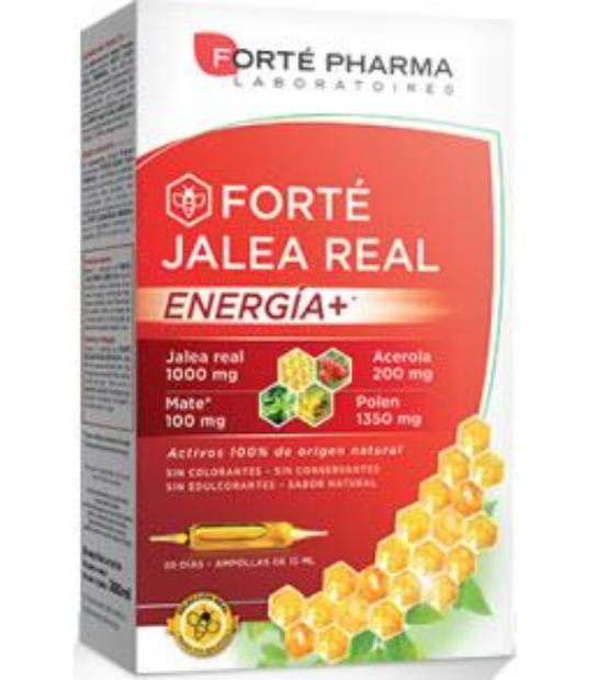 FORTE JALEA REAL ENERGIA PLUS 20 AMPOLLAS 15ML FORTE PHARMA
