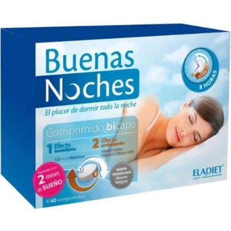 comprar ELADIET BUENAS NOCHES 60 COMPRIMIDOS 2 MESES DE SUEÑO