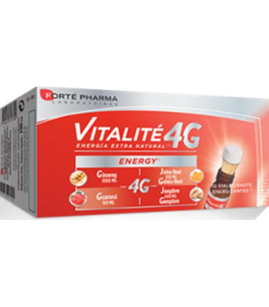 comprar VITALITE 4G ENERGIA EXTRA NATURAL 10 VIALES FORTE PHARMA