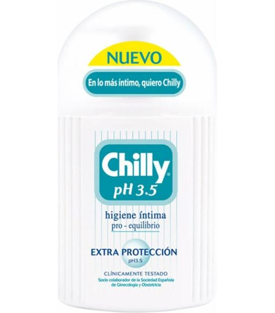 GEL INTIMO CHILLY PH 3.5 (AQUA) EXTRA PROTECCION 200ML