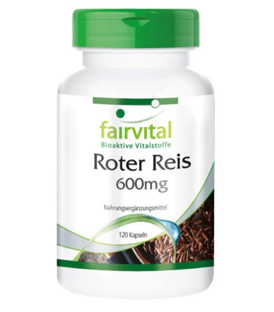 FAIRVITAL EXTRACTO ARROZ ROJO 600MG 120 CAPSULAS