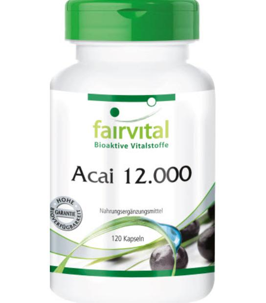 FAIRVITAL ACAI 12000 120 CAPSULAS
