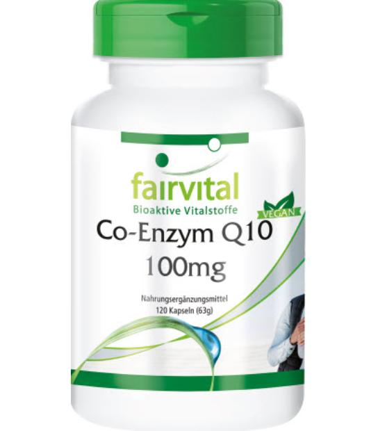 FAIRVITAL COENZIMA Q-10 100MG 120 CAPSULAS