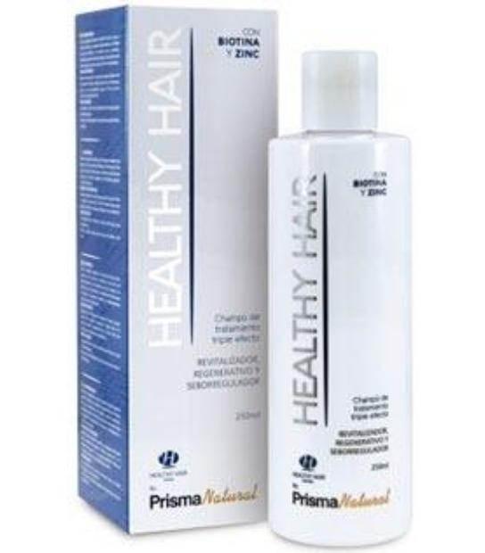 CHAMPU HEALTHY HAIR 250ML SEBOREGULADOR ANTICASPA PRISMA NATURAL