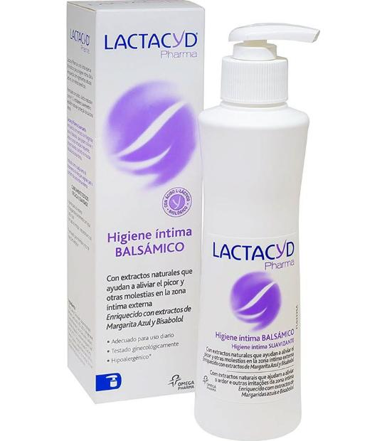 LACTACYD HIGIENE INTIMA BALSAMICO 250ML