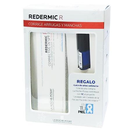 comprar LA ROCHE POSAY COFRE REDERMIC R CORRECTOR DERMATOLOGICO SPF30 40ML CON LACA DE UÑAS SOLIDARIA