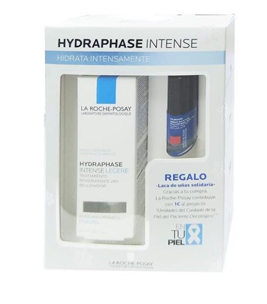 comprar LA ROCHE POSAY COFRE HYDRAPHASE INTENSE LIGERA 50ML CON LACA DE UÑAS SOLIDARIA
