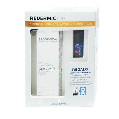comprar LA ROCHE POSAY COFRE REDERMIC C10 40ML CON LACA DE UÑAS SOLIDARIA