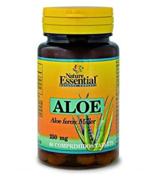 ALOE VERA 250MG 60 TABLETAS NATURE ESSENTIAL