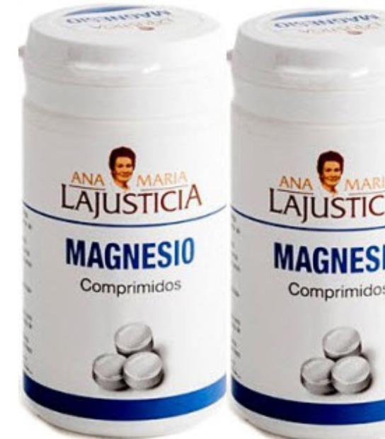 DUPLO CLORURO DE MAGNESIO 147 COMPRIMIDOS ANA MARIA LAJUSTICIA