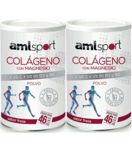 DUPLO COLAGENO CON MAGNESIO AMLSPORT 350GR ANA MARIA LA JUSTICIA
