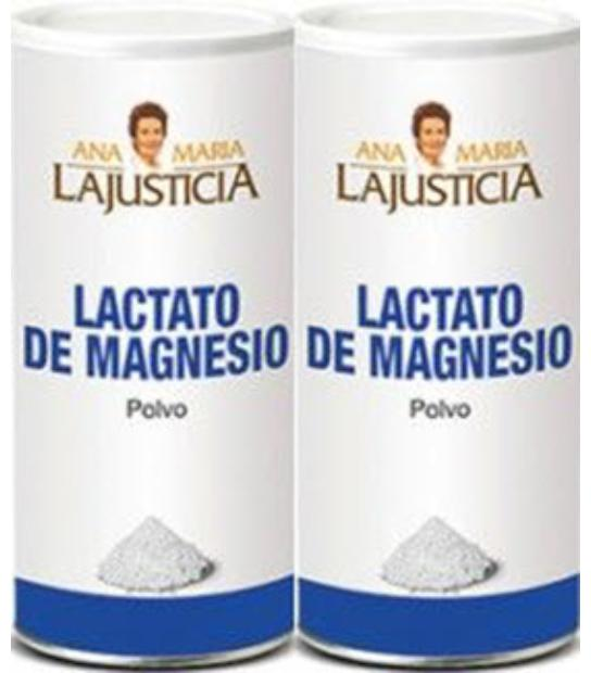 DUPLO LACTATO DE MAGNESIO 300 GRS ANA MARIA LAJUSTICIA
