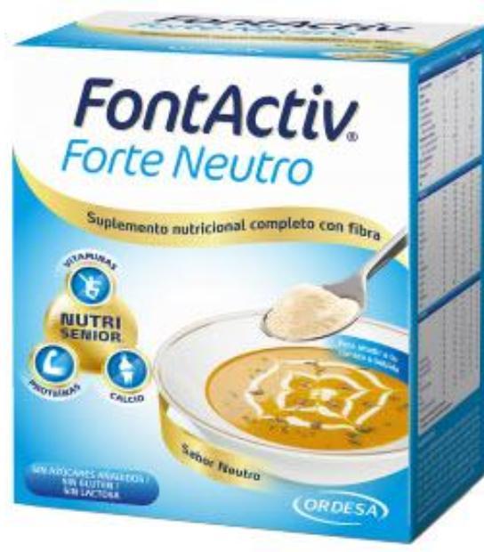 comprar FONTACTIV FORTE NEUTRO 10 SOBRES SABOR NEUTRO ORDESA