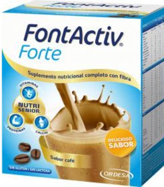 FONTACTIV FORTE 14 SOBRES SABOR CAFE ORDESA